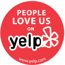 Yelp Love Us Icon for Tree Services